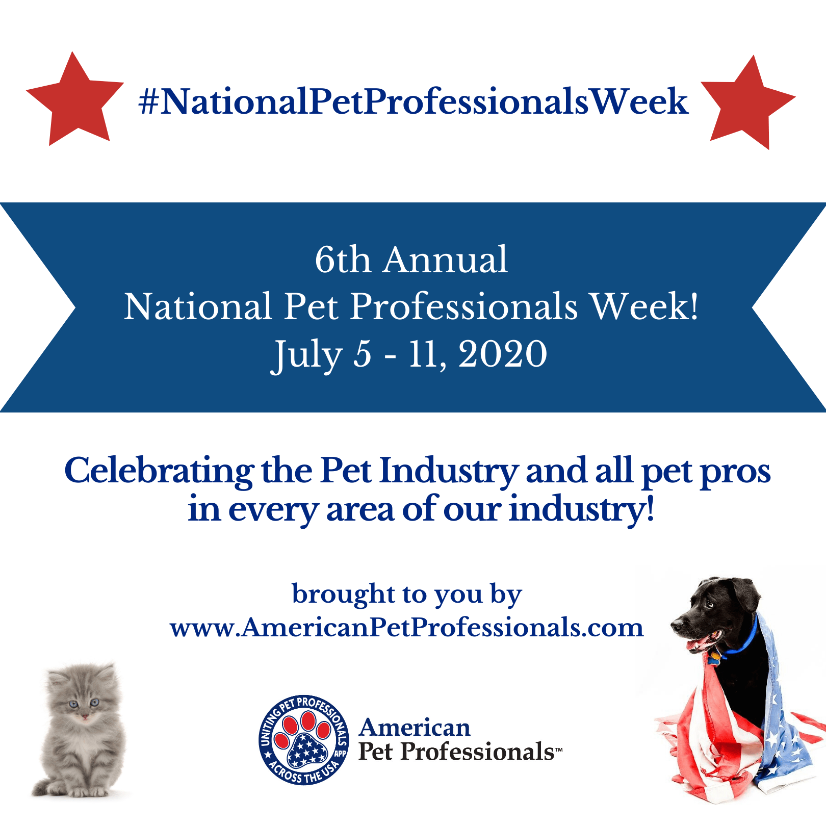 Pet Professionals week 2020