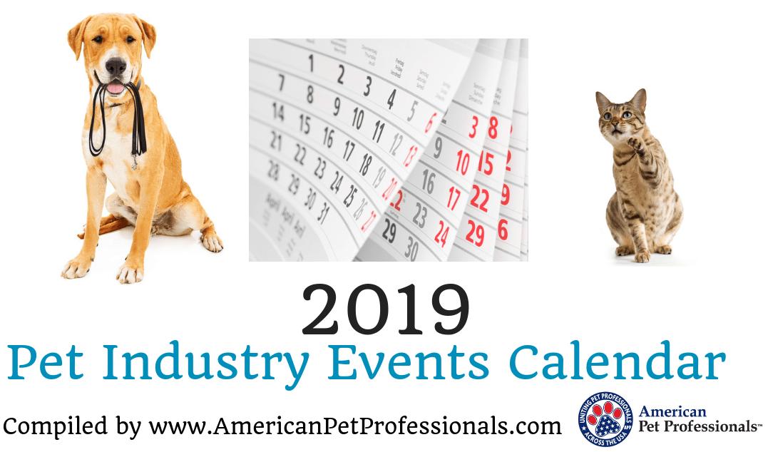 Insta 2019 Pet Industry Events Calendar